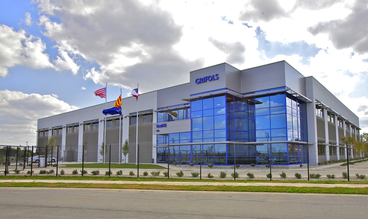 San Marcos Grifols Plasma Engineering System Solutions