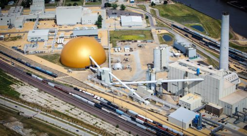 1_ADM Coal Bulk Storage, Cinton, IA USA