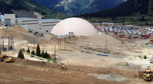 1_Climax Molybdenum Mine – Ore Bulk Storage, Leadville, CO USA