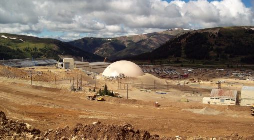 2_Climax Molybdenum Mine – Ore Bulk Storage, Leadville, CO USA